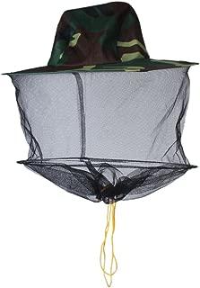 保護帽子 害虫駆除 蜂 駆除 ぶよ 蚊 対策 虫よけ 養蜂 草刈り メッシュネット ヘッドフェイスプロテクター  プロ防護 ガーデニング 迷彩柄