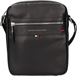Tommy Hilfiger Men's Elevated Laptop Backpack Elevated Laptop Backpack, Black, One Size