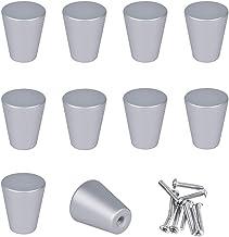 SPDYCESS Set van 10 Kastdeurknoppen met Schroeven Meubelgrepen Handgreep van Aluminiumlegering voor Kast Lade Kleerkast Dr...