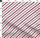 Zuckerstangen, Weihnachten, Streifen, Rot Und Weiß,
