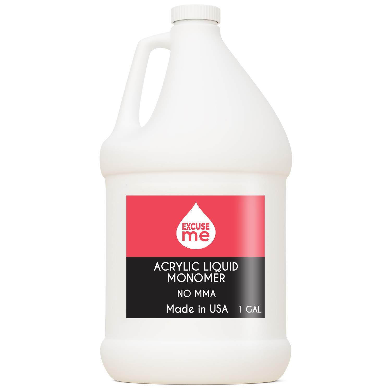 Excuse Me Professional Max 80% OFF Acrylic Liquid Free Max 51% OFF Monomer USA MMA Made