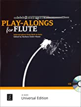 Play-Alongs for Flute: For Flute with CD or Piano Accompaniment
