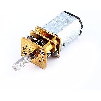 Eléctrico Gear Motor Caja de engranajes reducción Magnético Mini DC 3V-6V coche Venta De Stock