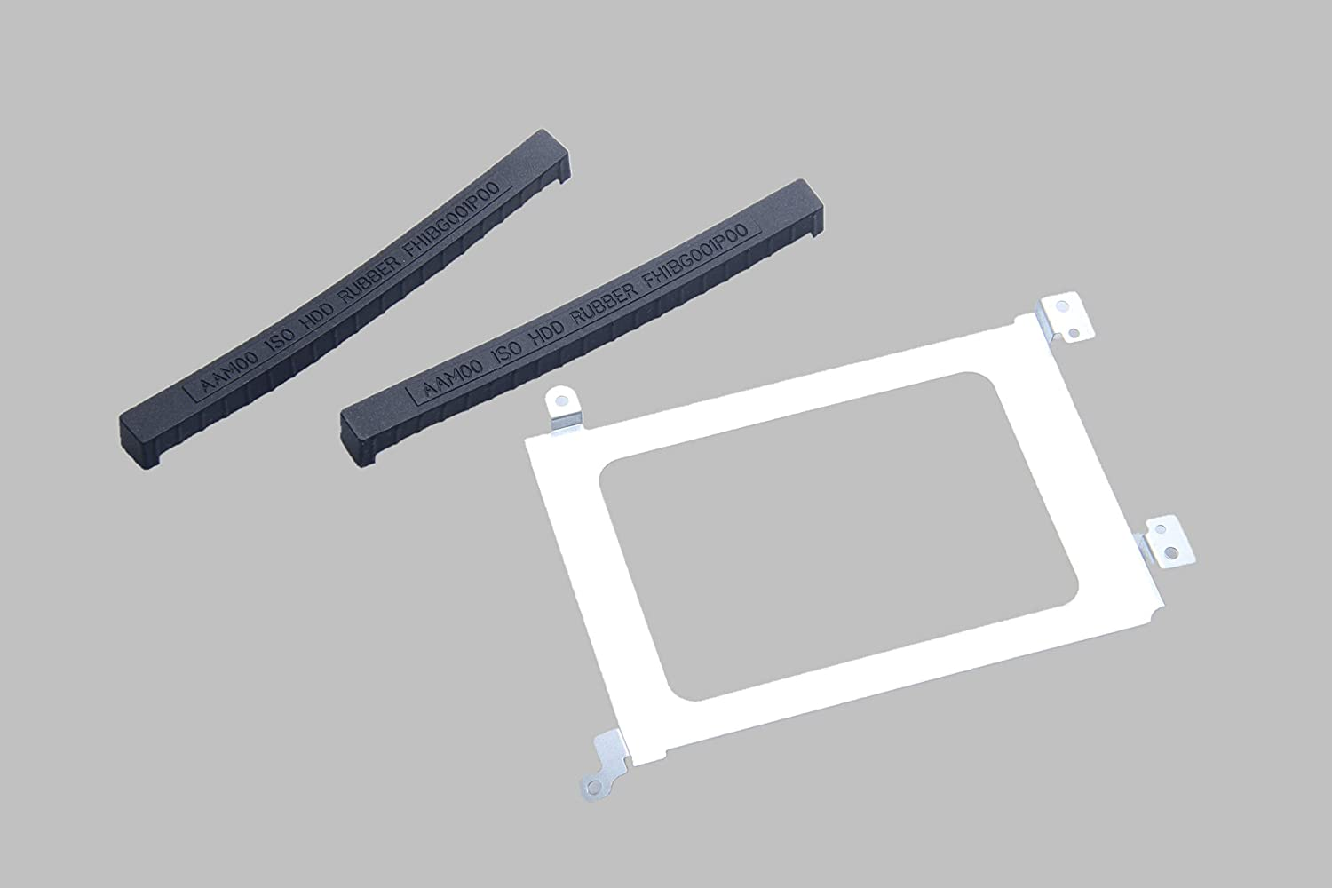 Toughstone Replacement New Hard Drive HDD Caddy XPS 15 9550 9560 Precision M5510 M5520 + Rubber Rails for Dell