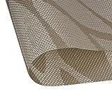 Fontic 6er Set Platzsets 30x45cm Platzdeckchen Rutschfest Abwaschbar Tischmatten PVC Abgrifffeste Hitzebeständig Tischsets, Platz-Matten für küche - 7