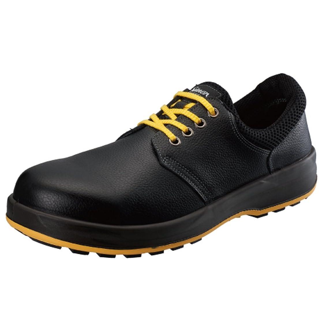 ラッシュベーコン氷[シモン] 【WS11】静電靴 人体に帯電した静電気を、靴底を通して常に接地面にアースすることで除電する安全靴 甲被に牛革を使用した耐久性に優れたタイプ