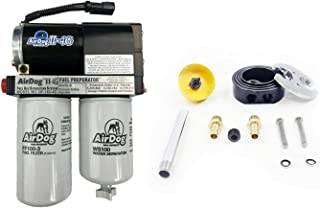 AirDog 2-4G 165 GPH Fuel Lift Pump with Dual Port Integrated Return Sump Compatible with 2011-2014 Chevy/GMC 6.6 LML Duramax Diesel