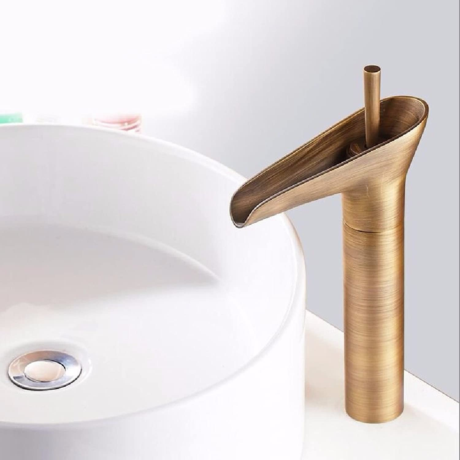 NewBorn Faucet Water Taps Hot And Cold Water The Copper Basin Antique Hot And Cold Wash-Basin Mixer