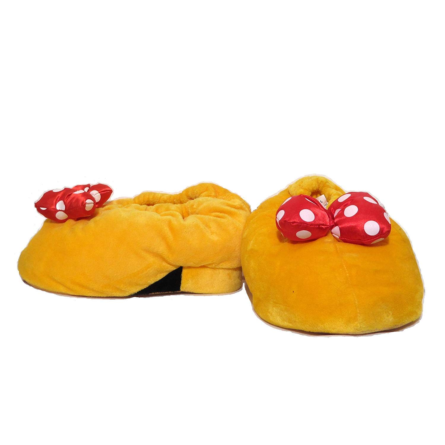 S-839 840 841 NWT Disney Minnie Mouse Girl/'s size 7//8 Slippers Just Too Cute!