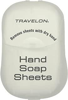 travelon hand soap sheets