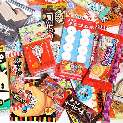 【ポップキャン30本サービス】おまけ付き!コリスとグリコのおもちゃ箱入り駄菓子セット(31種・31コ+おまけ30コ・計61コ)おかしのマーチ