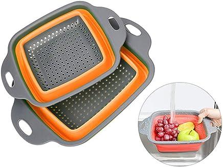 AidShunN Juego de Bolsas de Almacenamiento de Alimentos de Silicona Reutilizables Recipientes para Alimentos Frescos de Estancia