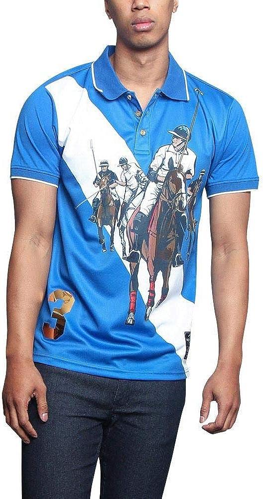 Men's Premium Cotton OFFicial site Poly Classic Blend Polo Lightweight Sublimation Shi
