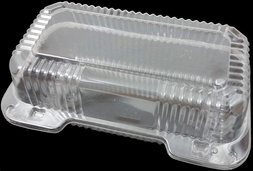 DART Clear Hinged AL完売しました Lid Plastic Container 9