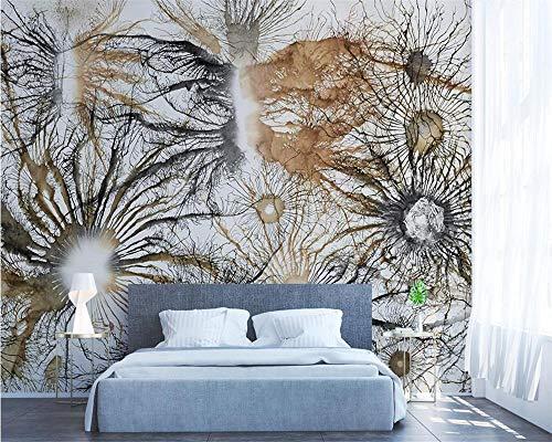 HDDNZH muurschildering Custom 3D grote muurschildering behangpapier takken van de Europese kunst schilderij televisie sofa achtergrond muur kinderkamer slaapkamer huisdecoratie 300cm(H)×500cm(W)
