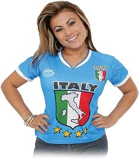 d4336eb8ee88e Arza Sports Italia - Playera de fútbol para Mujer