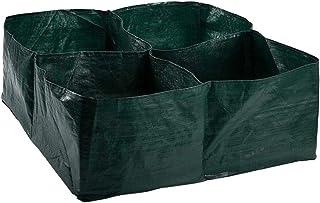 60 x 60 cm Wyi Verdure Fiori per Coltivare Verdure 1 Letti da Giardino rialzati in Tessuto Quadrati vasi Traspiranti per Piante
