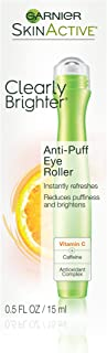 Garnier SkinActive Clearly Brighter Anti-Puff Eye Roller, 0.5 Ounce