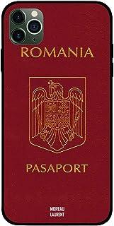iPhone 11 Pro Max Case Cover Romania Passport Moreau Laurent Premium Design Phone Covers