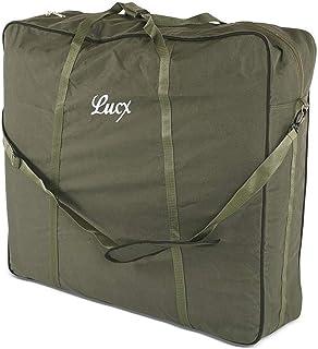 Lucx® bärväska XXL för sängstol fiskeläge karpplats trädgårdsplats transportväska, mått (L/B/H): 82 x 90 x 30 cm