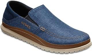 Crocs Men's Santa Cruz Playa Slip-On Loafers, Khaki/Stucco, EU