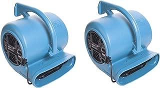 Dri-Eaz F351 Sahara Pro X3 TurboDryer 3-Speed Floor Dryer (2 Units)