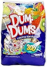 Spangler Dum Dums Lollipops Candy Limited Edition Flavors, 300 Pops (51 Oz) Bag