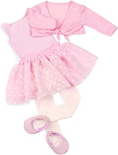 Our Generation Dolls Dressed to Twirl Doll Leotard and Skirt Outfit, 18