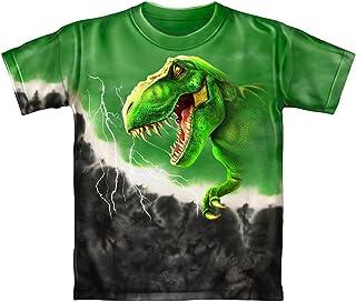 Dawhud Direct Rex Green Tie-Dye Youth Tee Shirt