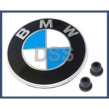 2 x Tüllen für BMW Logo Emblem Motorhaube 82 mm 3 er E21 E36 E46 E90 E91 E92 E93