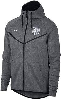 2018-2019 England Authentic Tech Fleece Windrunner Jacket (Carbon)