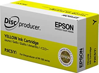 Epson DiscProducer PP-100/PP-50 C13S020451 Ink Cartridge (Yellow, 1-Pack) in Retail Packaging