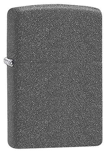 Zippo 211 Iron Stone Lighter, Ottone, Grey, One Size