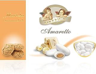 Amaretto Biscuit Gesuikerde Amandelbonen   Bruiloft Bedankje   Glutenvrij   500g (90 Stuks)