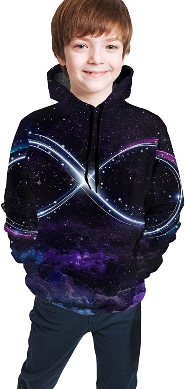 HARLEY Topics on TV BURTON Boys Hoodies Excellent Starry Hooded Infinity Sky 3D Sweatsh