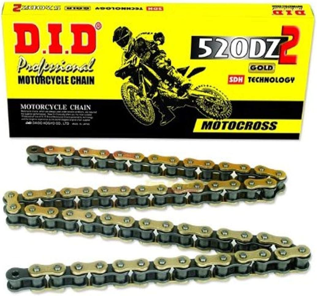 Choice D.I.D. - 520DZ-96 520ATV-114 Gold with Max 70% OFF X-Ring Connecting L Chain