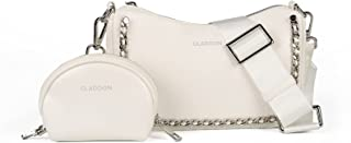 GLADDON MODA Kleine Umhängetasche damen Multi Pochette, Stilvolle Designer-Geldbörsen und Handtaschen mit Münzgeldbörse un...