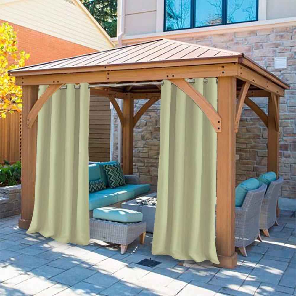 DOMDIL - Cortinas para exteriores, cortinas para jardín, cortinas ...