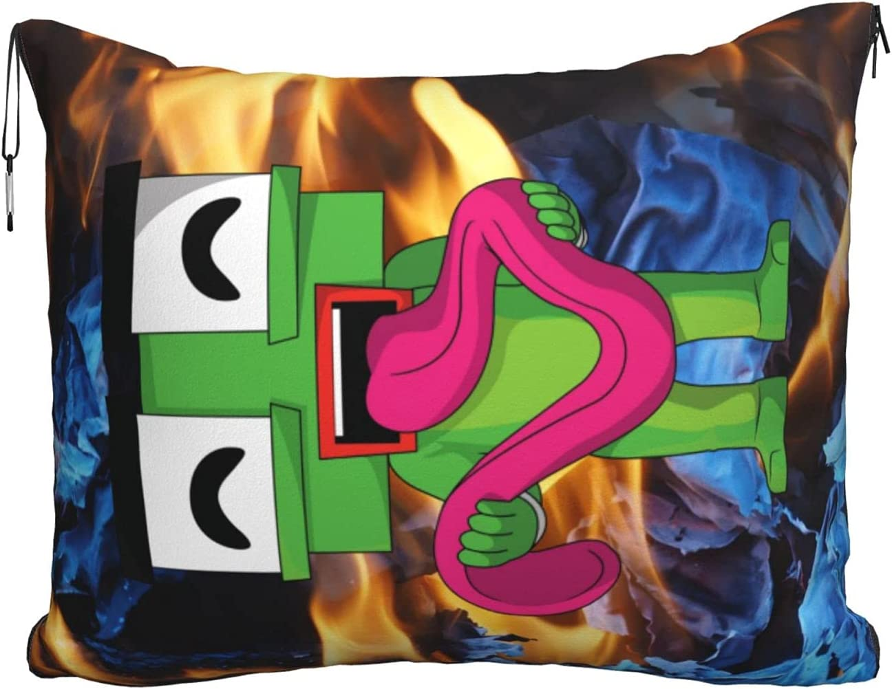 Unspeakable Travel Sacramento Ranking TOP15 Mall Blanket Pillow - Premium 2 Flannel 1 in Airpl