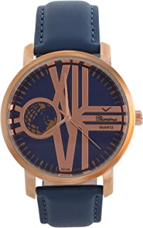 Charisma Casual Watch for MenLeather Band, Analog, C6903