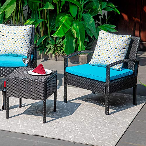 TITLE_M&W 3 Pieces Patio Furniture Set