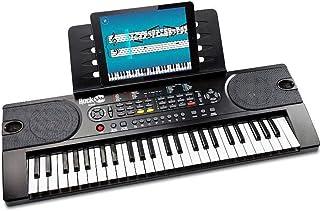 RockJam RJ549 49 Key Keyboard Piano (BLACK)