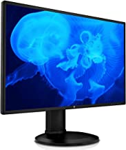 """V7 27"""" QHD 2560 x 1440 Widescreen LED Monitor, Height Adjustable, DP, HDMI, Speakers - L27HAS2K-2N"""