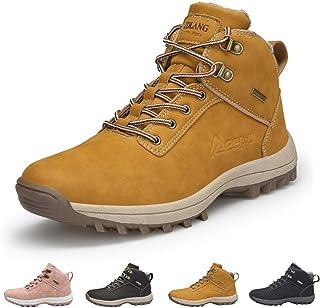 Uomo Donna Stivali da Neve Trekking Scarpe Inverno Outdoor Impermeabili Pelliccia Sneakers