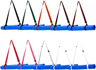 PARACORD PLANET Yoga Mat Strap Sling Harness - Yoga Mat Holder to Easily Carry Mat - Comes in Variety of Colors - Adjustable