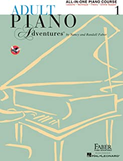 Adult Piano Adventures All-in-One Piano Course Book 1: Book
