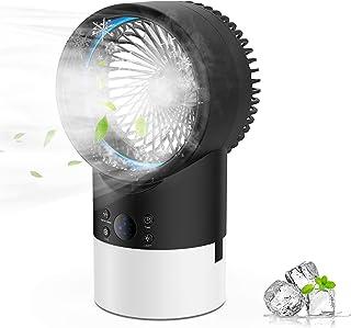 PATISZON Mini Condizionatore, Condizionatore Portatile, Raffreddatore d'Aria Mini Ventilatore Condizionatore Air Cooler co...