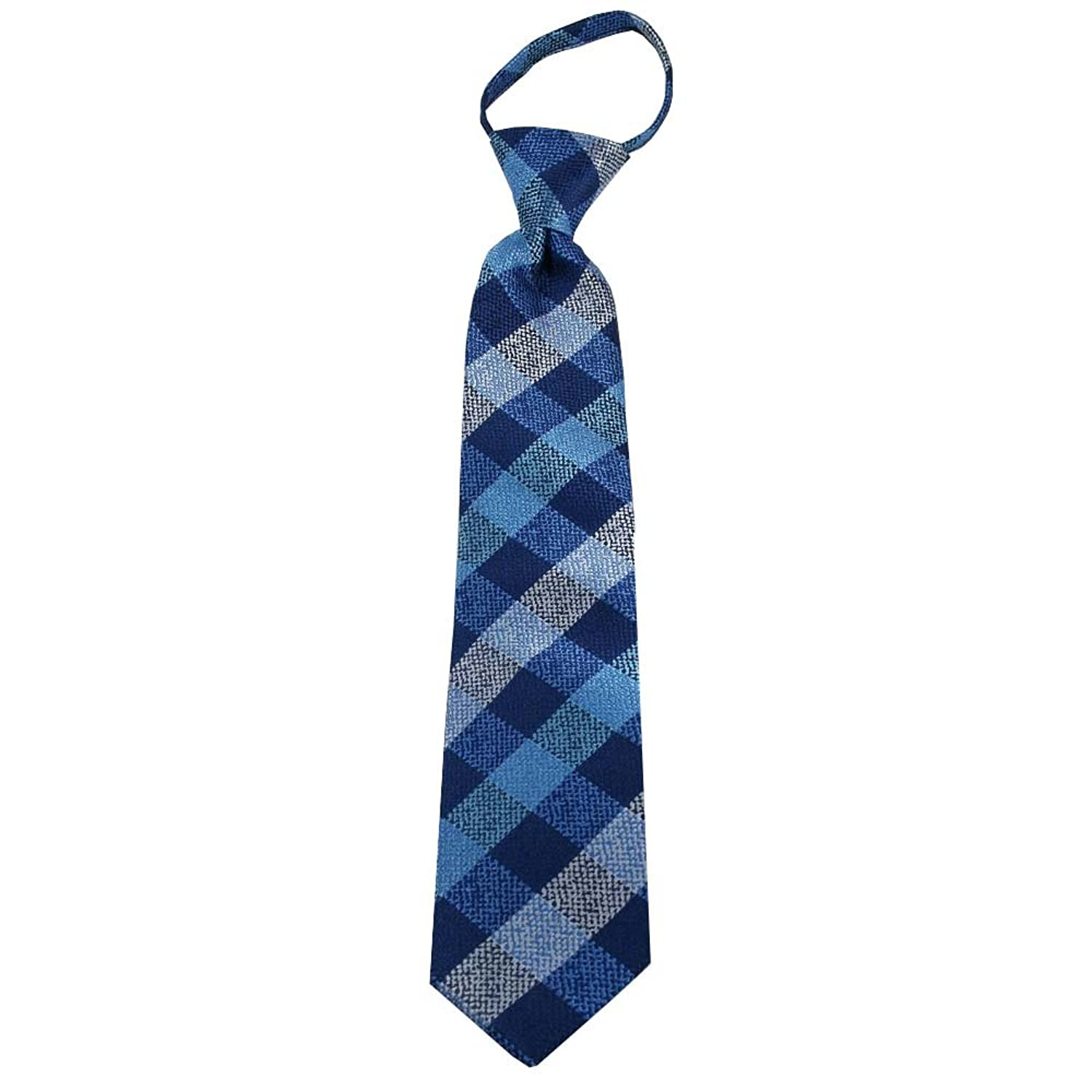 Johnson Brothers ACCESSORY ボーイズ US サイズ: Boys tie - 14″ (Zipper) カラー: ブルー