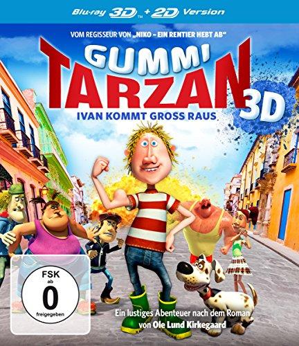 Gummi-Tarzan - Ivan kommt groß raus  (inkl. 2D-Version) [3D Blu-ray]