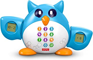 Fisher Price 费雪探索学习玩具 数学博士猫头鹰FDF08